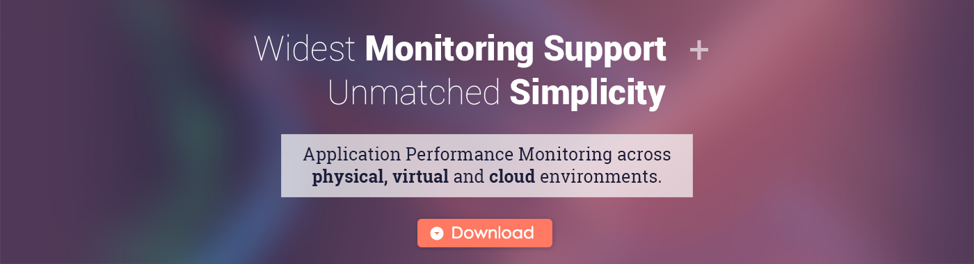 Widest Monitoring Support